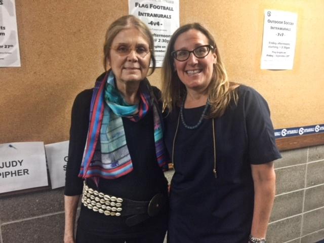 Iconic Gloria Steinem