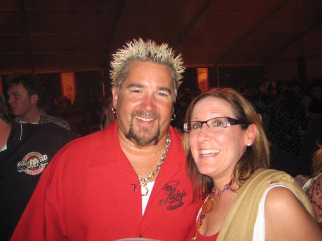 Eating with Guy Fieri