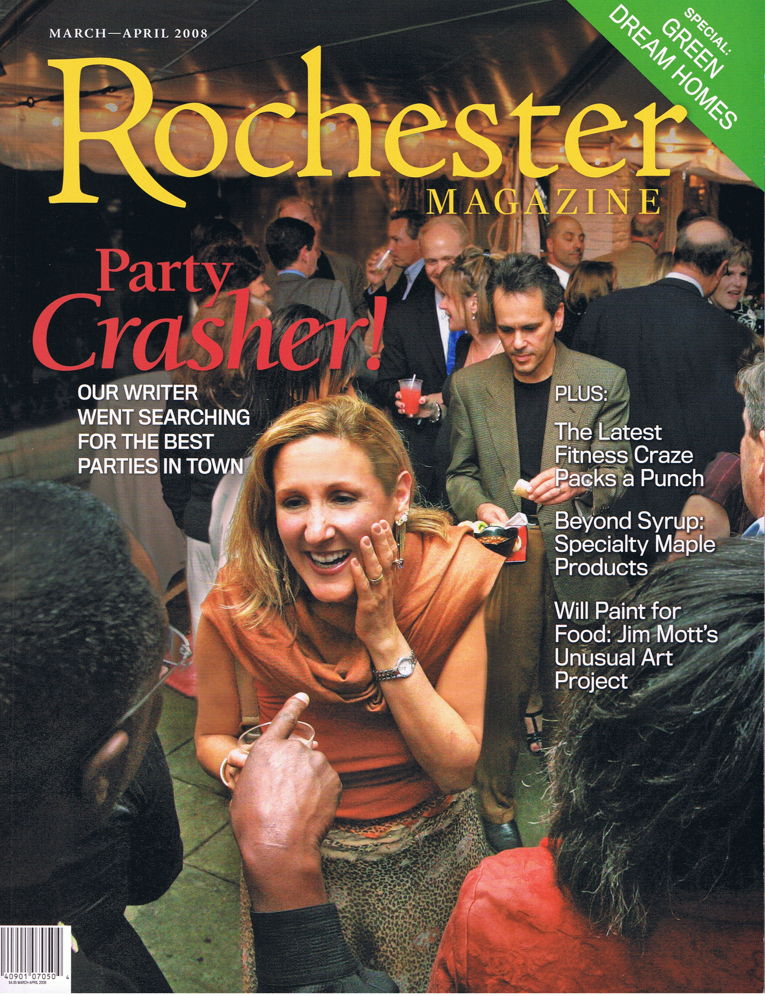 Rochester Magazine Outlaw Cover Girl