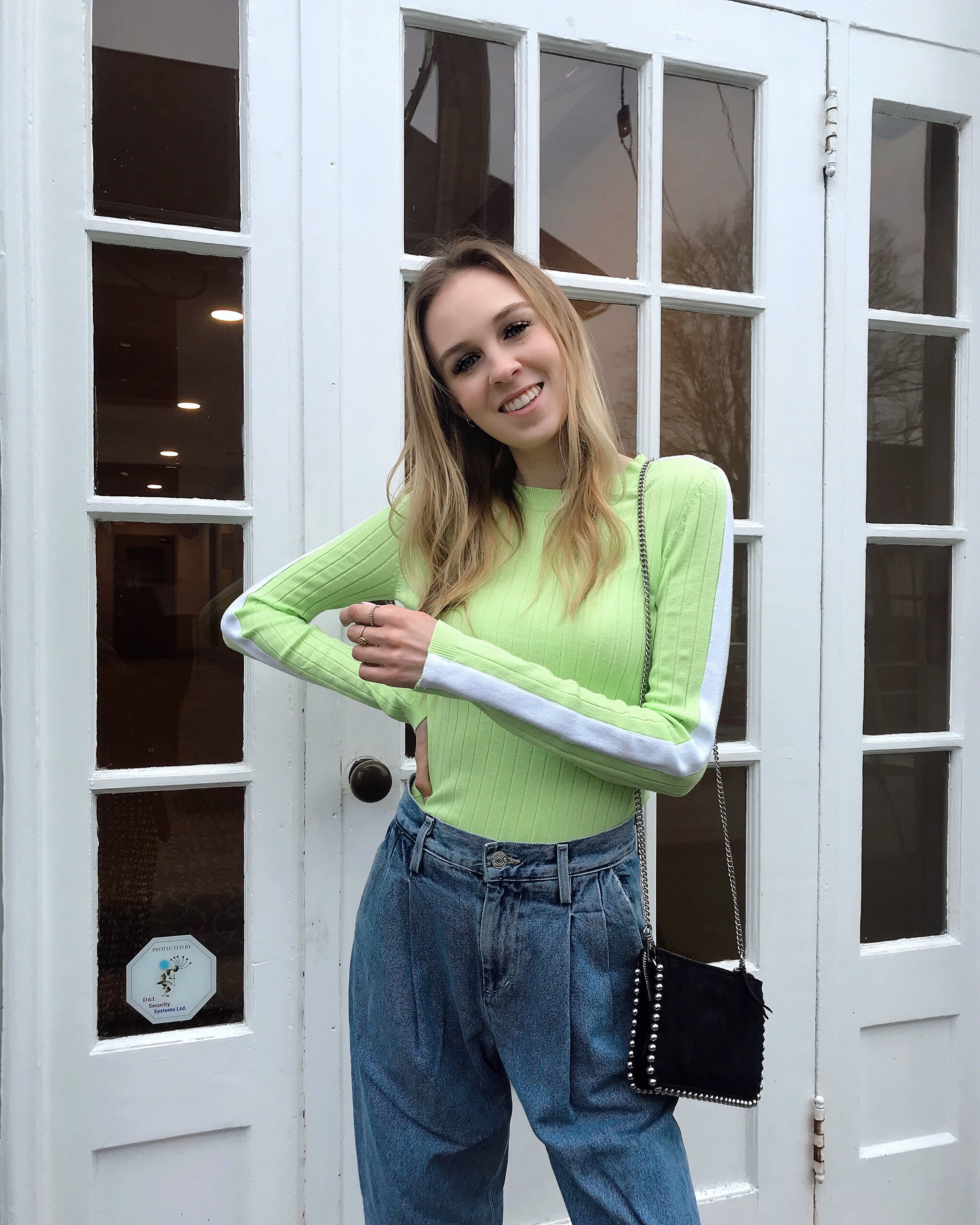 Heather Ungraceful in Spring 2019 Neon Trend