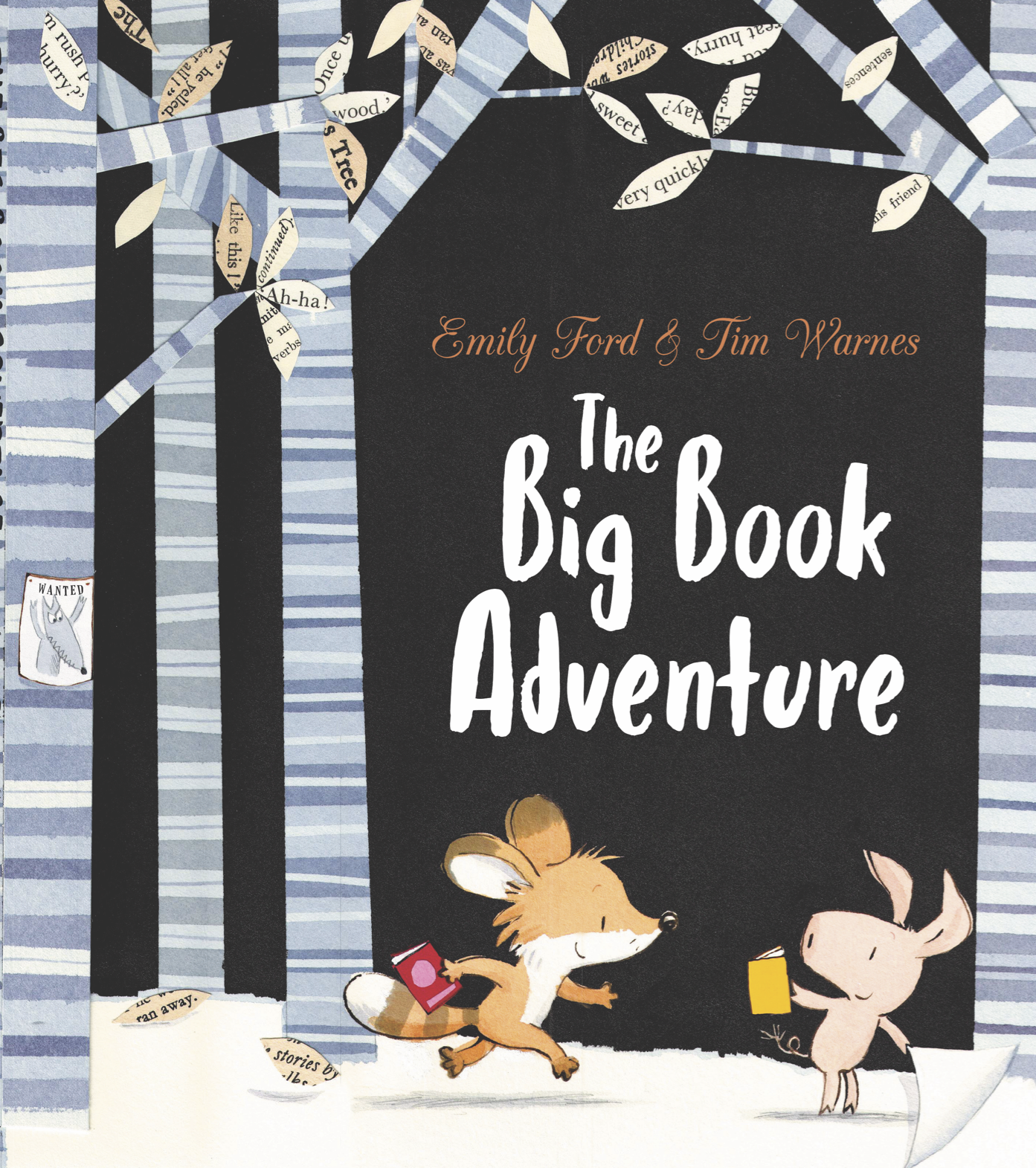 The Big Book Adventure  © 2018 by Tim Warnes