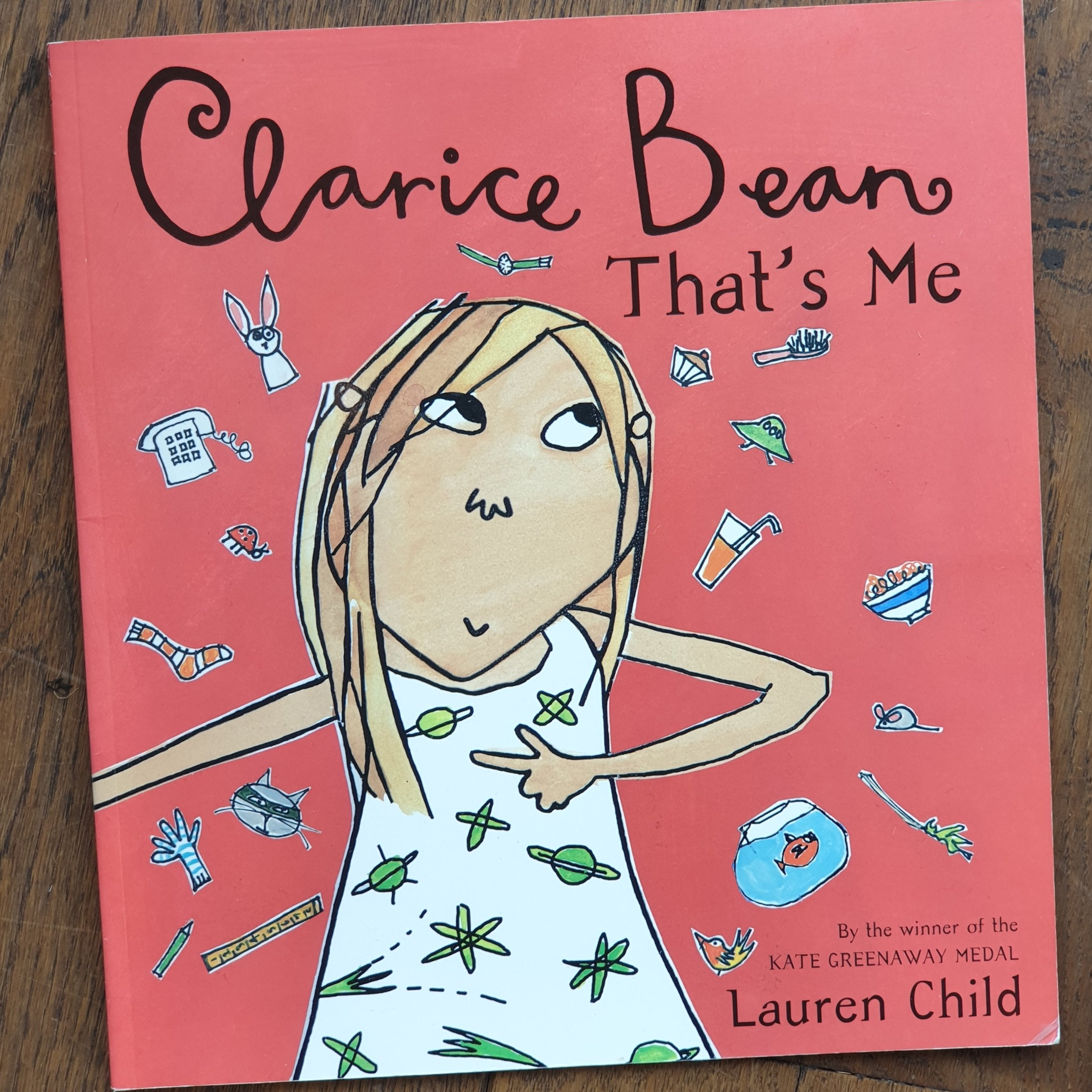 © 1999 by Lauren Child (Used by permission: Orchard Books)
