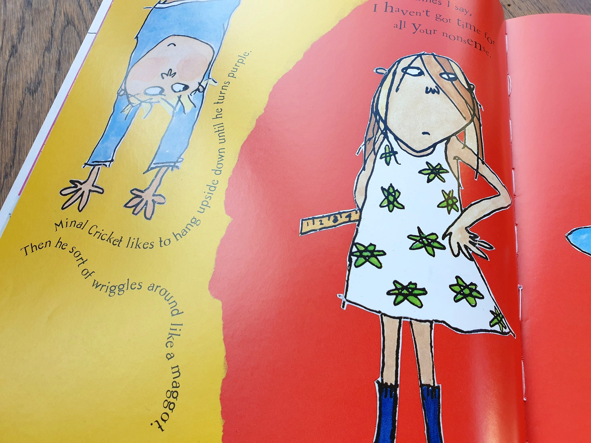 Clarice Bean That's Me © 1999 by Lauren Child (Used by permission: Orchard Books)