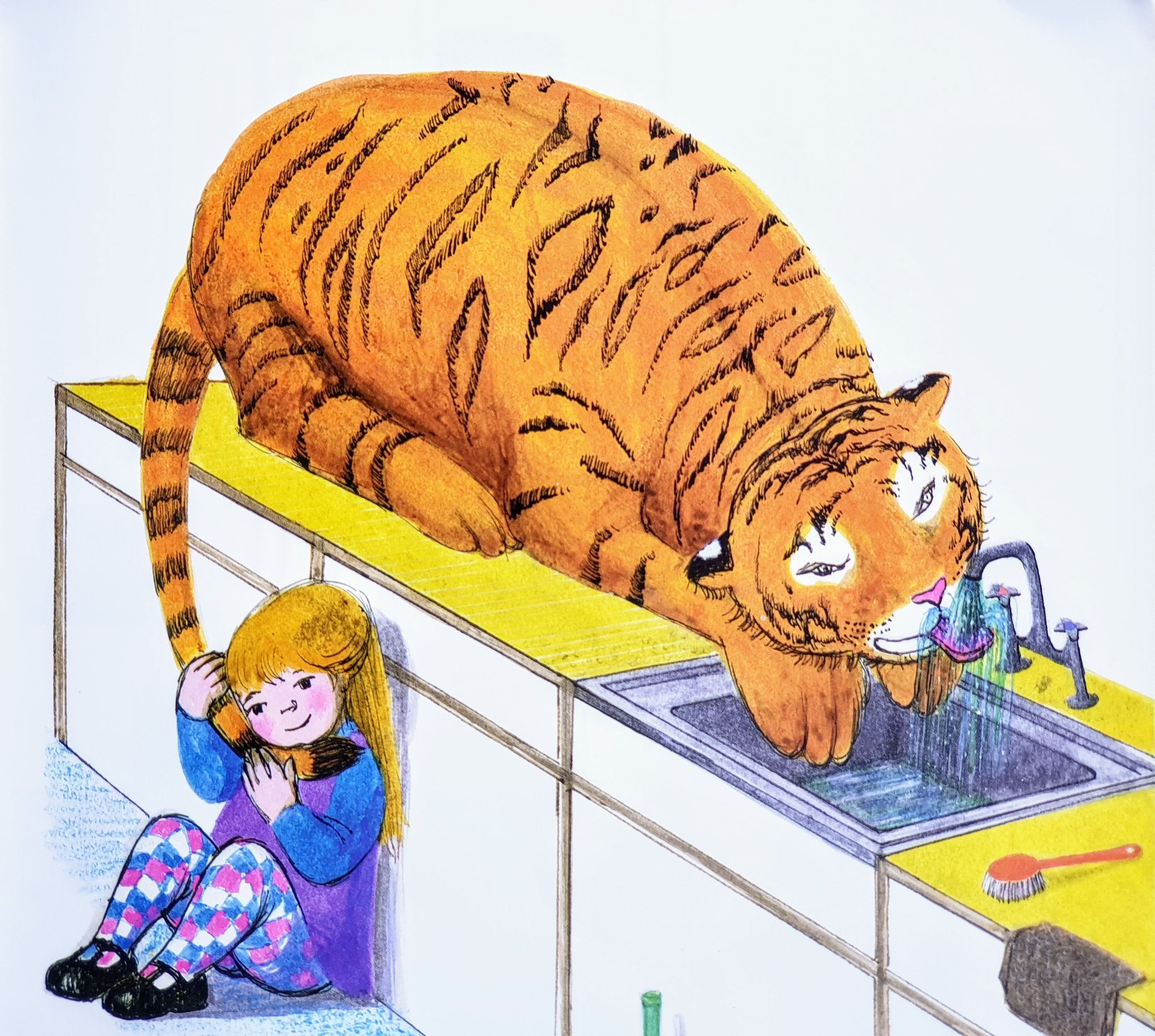 from The Tiger Who Came to Tea © 1968 by Judith Kerr
