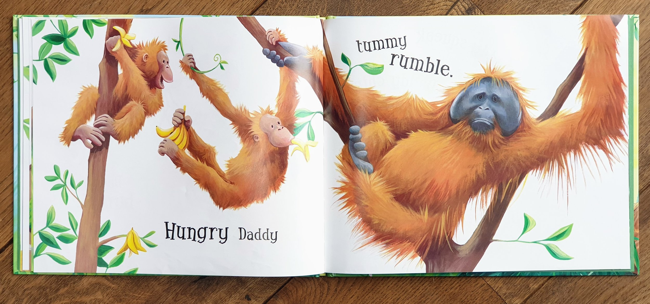 From  Daddy Hug  (HarperCollins) © 2008 by Tim Warnes and Jane Chapman. Used by permission