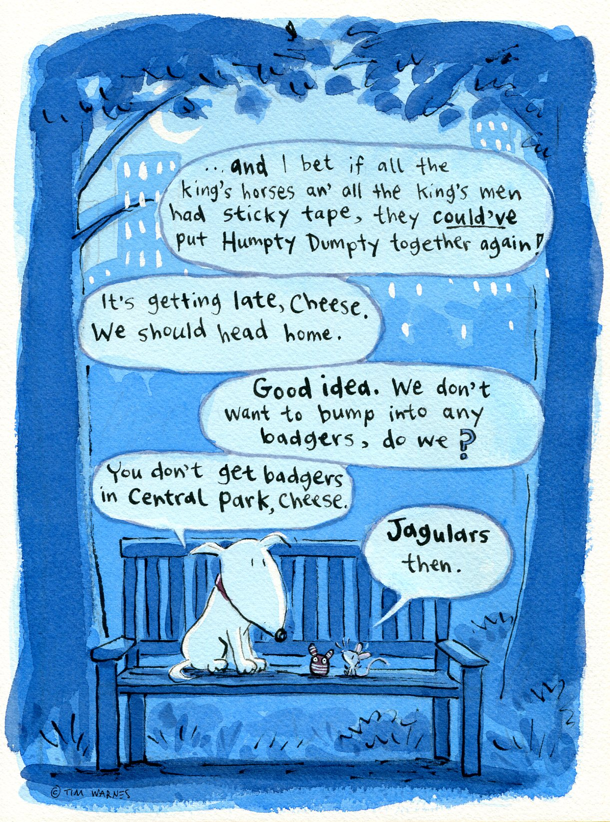 21:05  from Chalk & Cheese Comics © 2012 by Tim Warnes