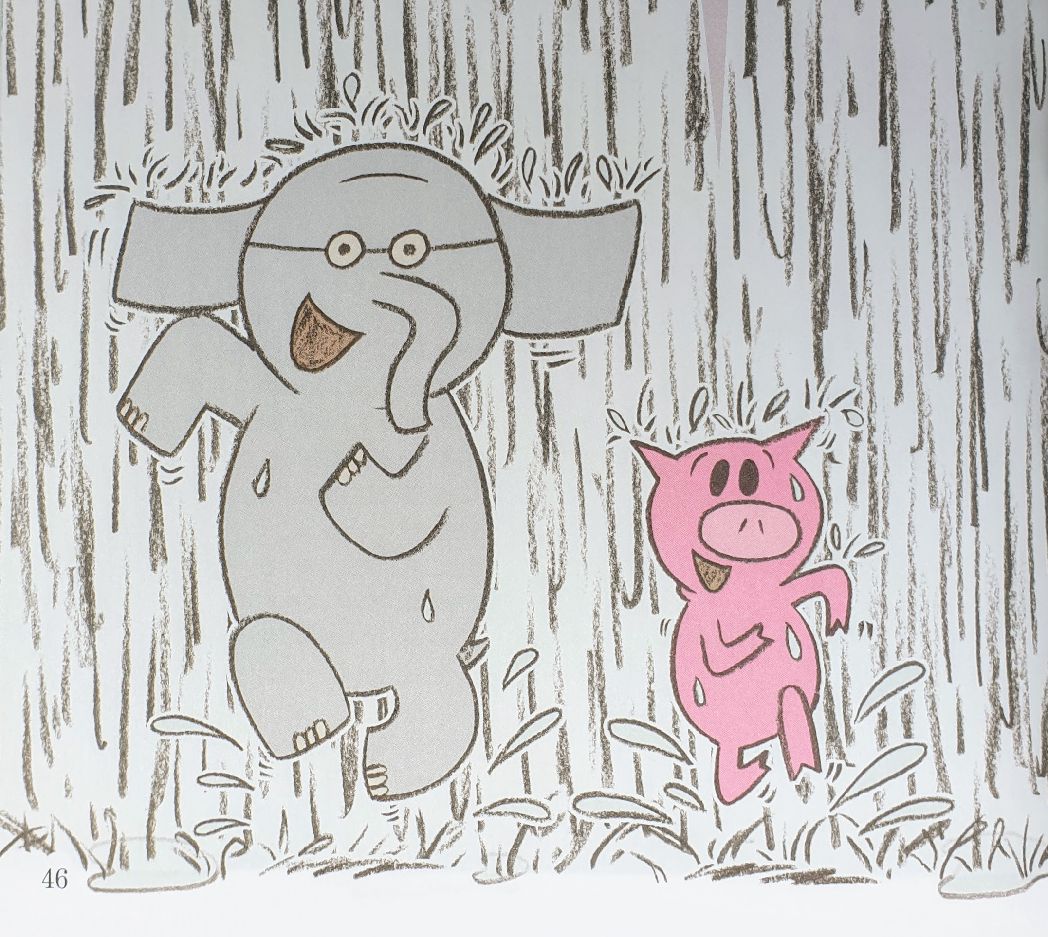 From  Are You Ready to Play Outside?  © 2009 by Mo Willems