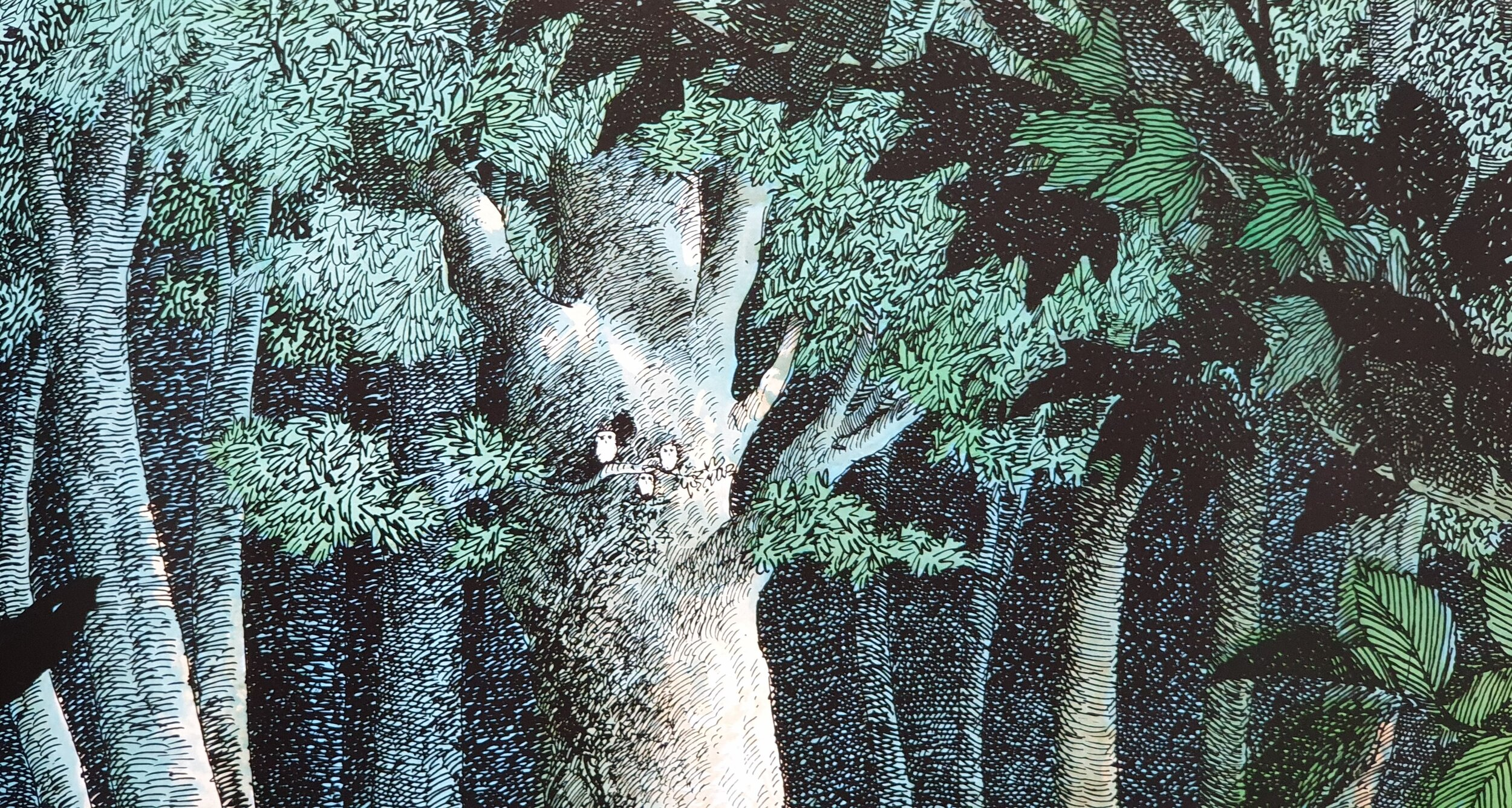 Detail from  Owl Babies  © by Martin Waddell and Patrick Benson (Walker Books 1992)