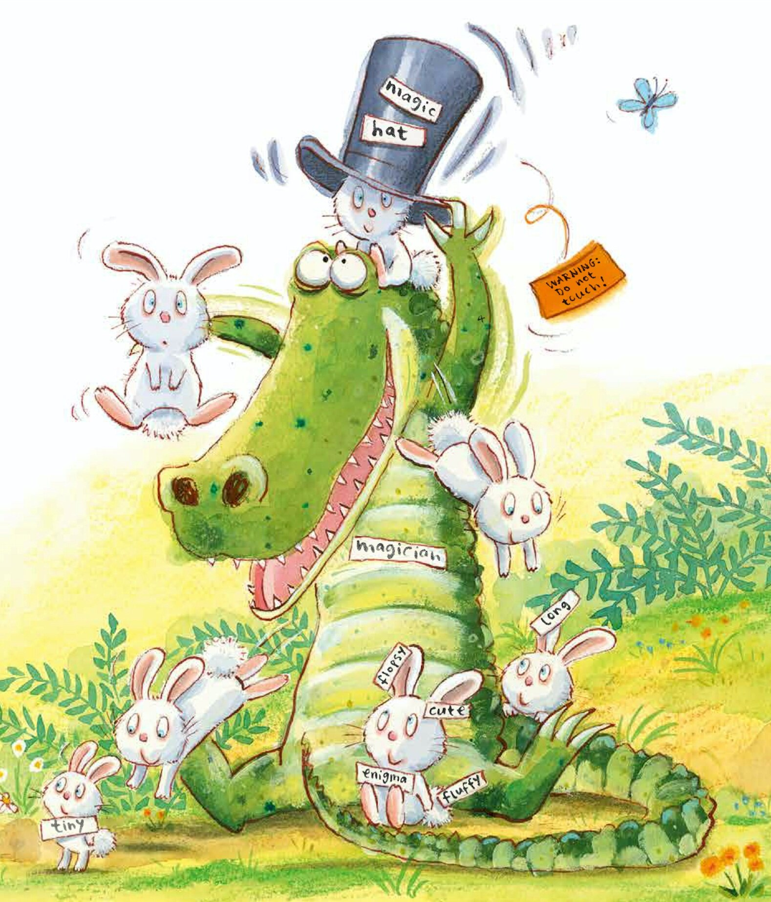 WARNING! This Book May Contain Rabbits  (Little Tiger Press) © 2016 by Tim Warnes