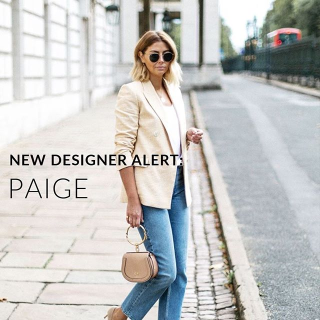 Introducing @paige to our new Subscription Service launching this fall!  Known for premium denim and flawless fit, PAIGE is dedicated to designing the pieces you'll live in.  Get on the wait-list at the link in our bio 👆