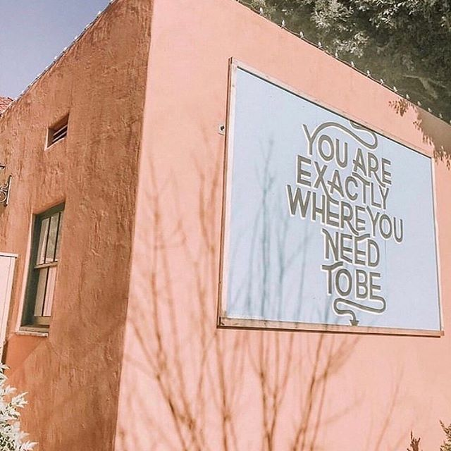You are where you are meant to be. ✨#Repost from our friends at @poppybarley