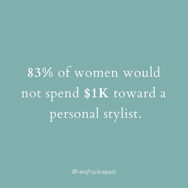 #DYK as an RfR Member, you'll have access to free styling services?  Whether you need a little fashion advice or would like to have your entire box curated for you – our experienced team of stylists will be there to help!  Link in bio to learn more. #RfRSubscription (Stat: Finery's State of Women's Closets Survey)