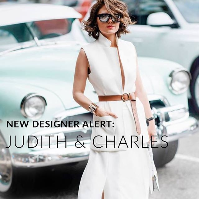 "New to our designer lineup: @judithandcharles  This coveted Canadian label draws inspiration from the ""less is more"" aesthetic, including perfectly tailored pieces that fit well and wear beautifully.  Reserve your spot on our wait-list at the link in our bio. #RfRSubscription"