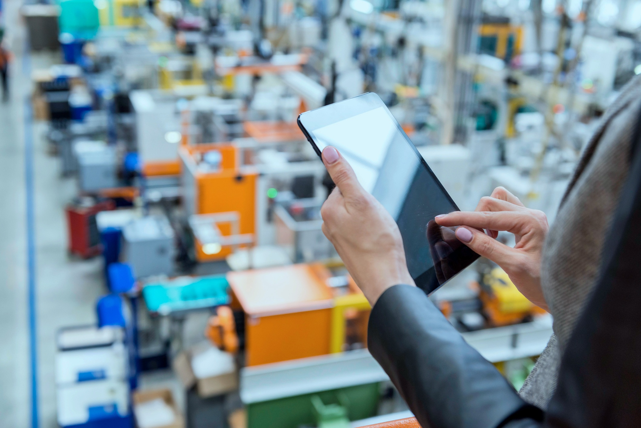 Using mobile devices is a key way to improve the accuracy and timeliness of data.