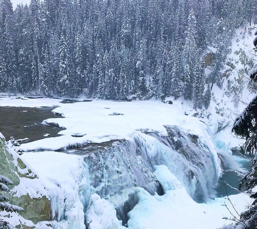 Wapta Falls, BC