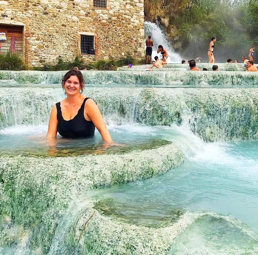 Saturnia Hot Springs (or Terme Saturnia)