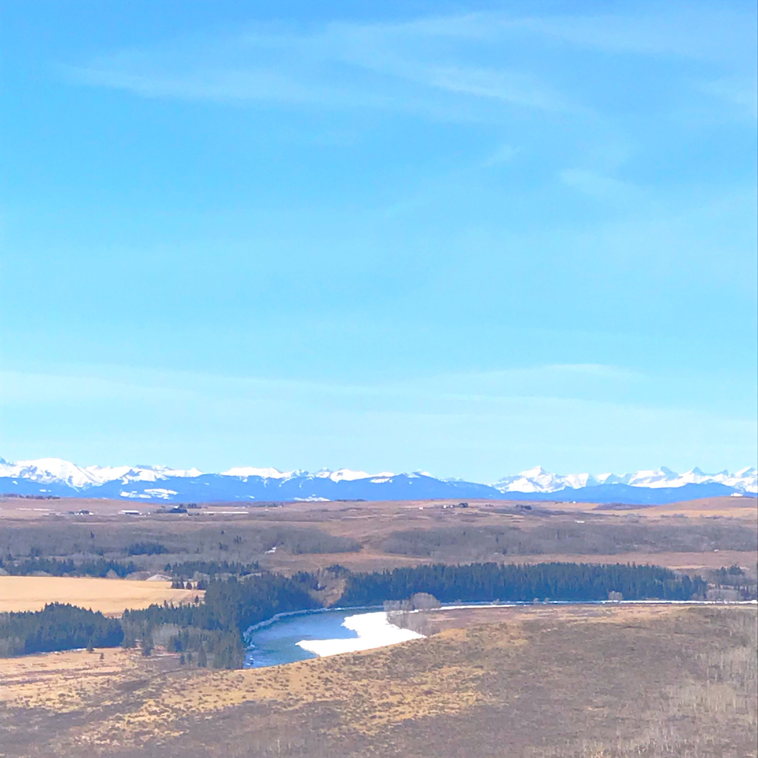 Stunning views from Glenbow Ranch, Alberta!