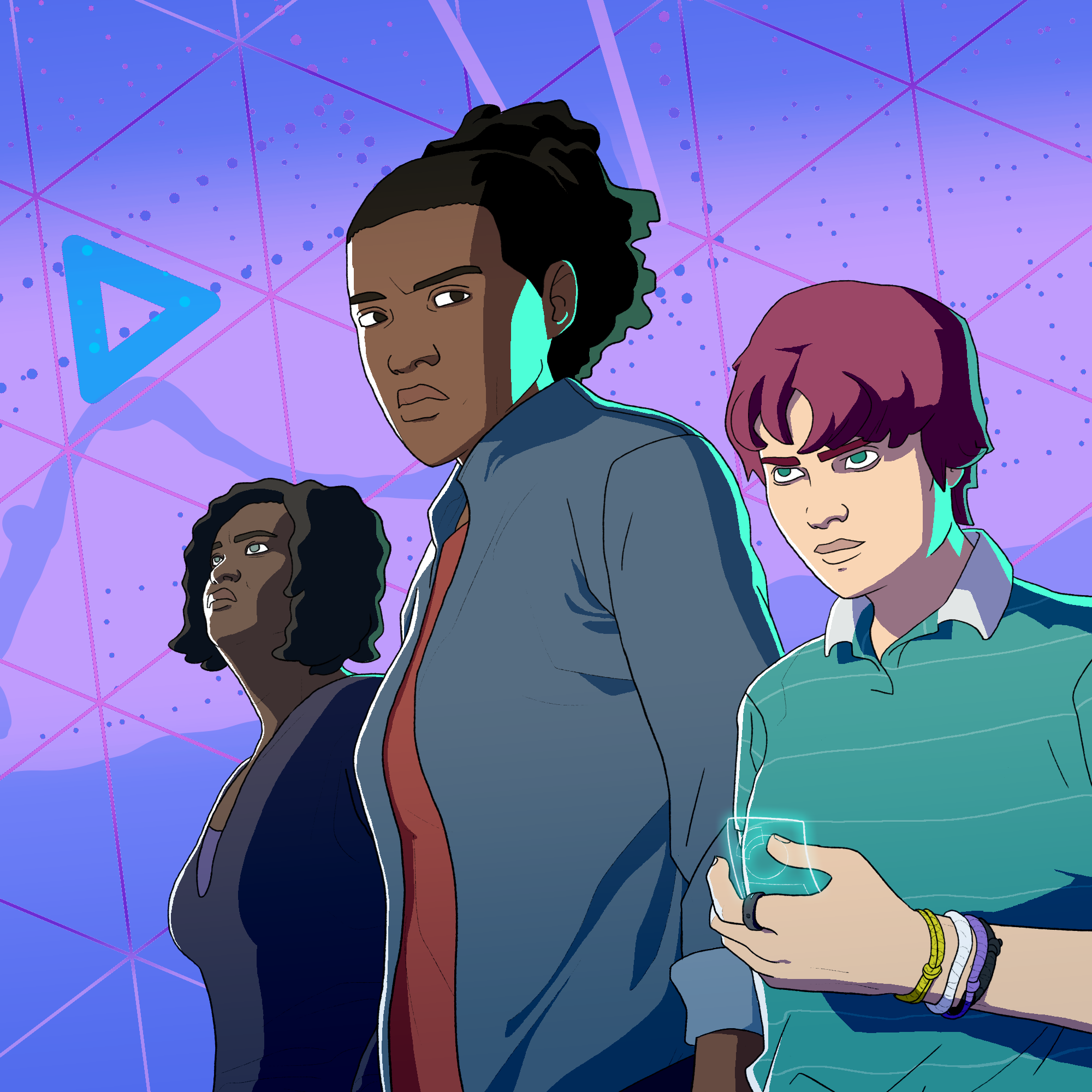 Light Witches is a webcomic about propaganda, holograms, and punching Nazis. -