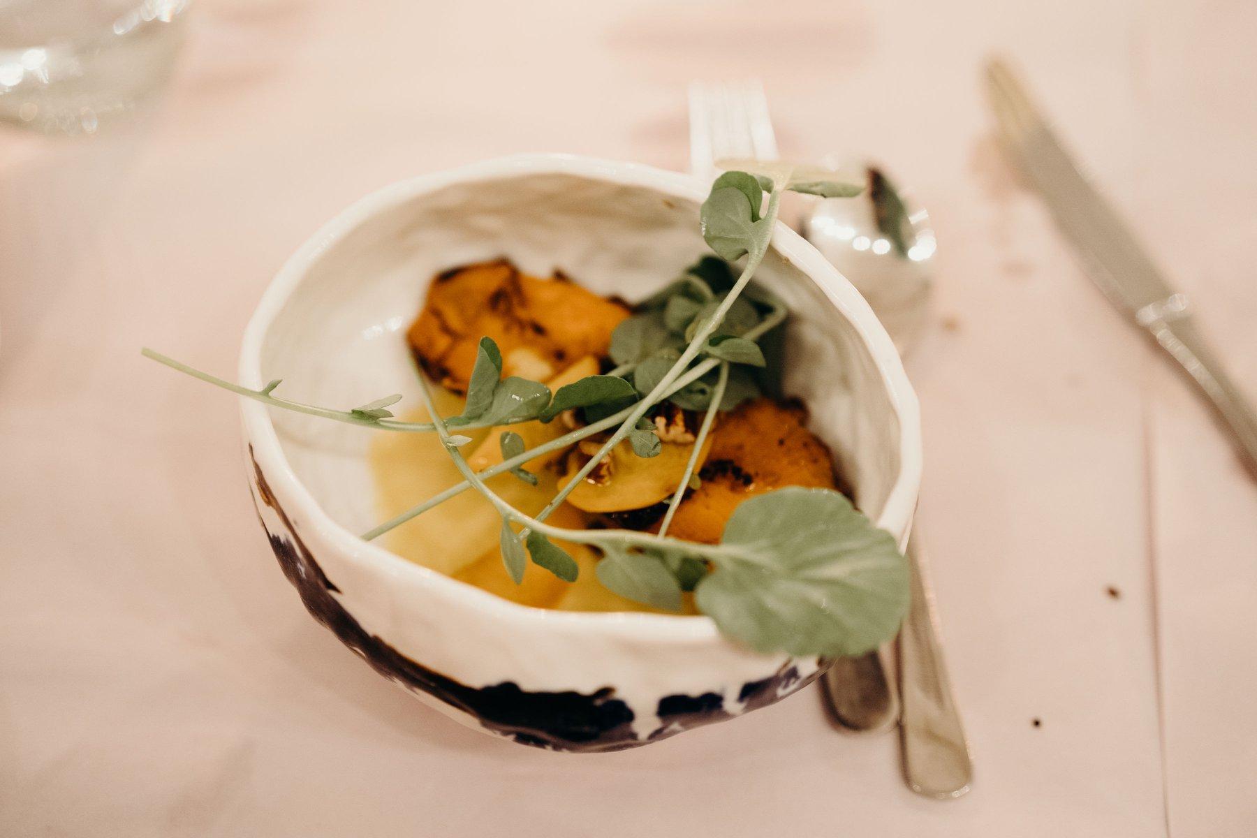 Kai! Served in Maia's ceramic bowl.