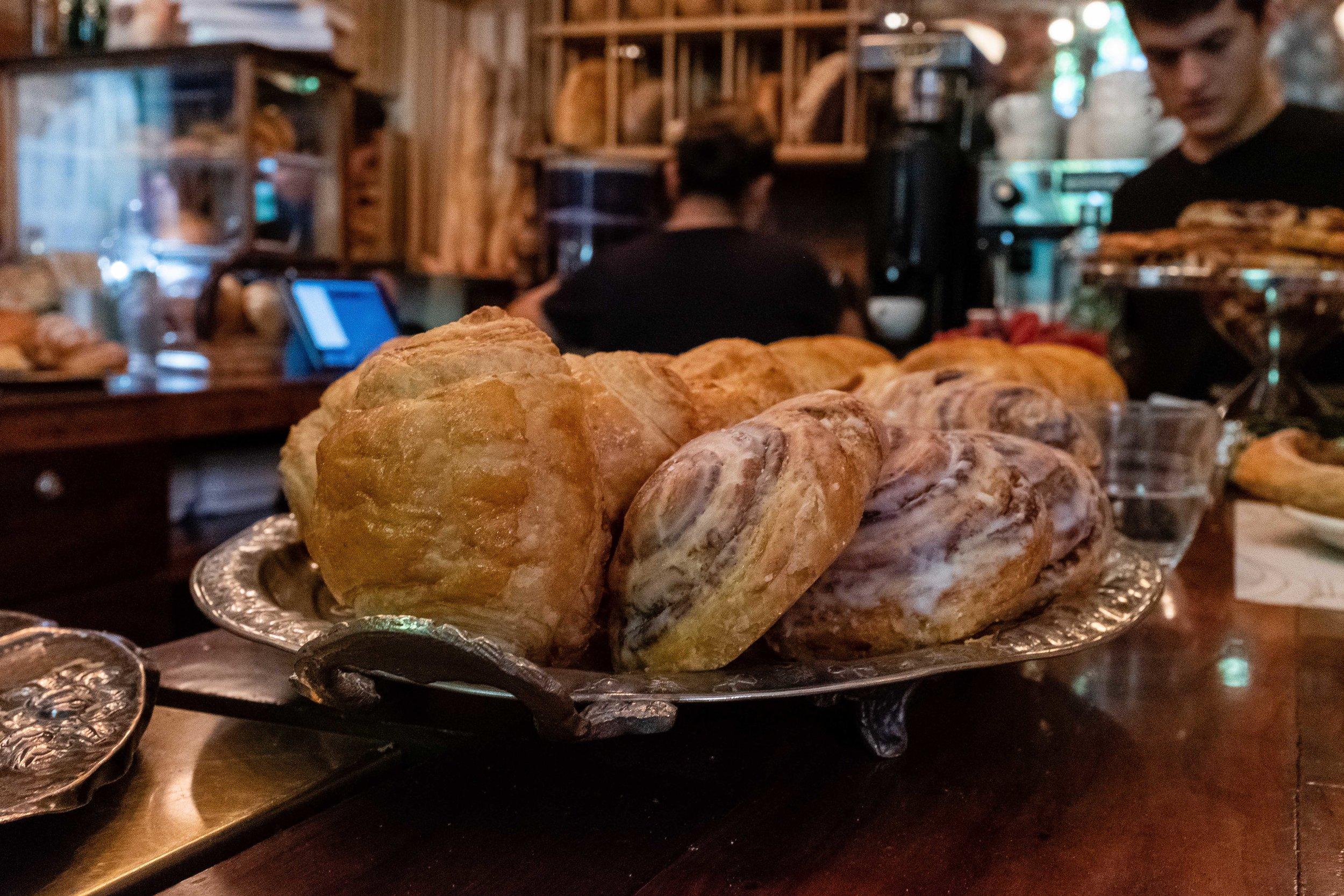 Morning pastries at Panaderia Rosetta Havre 73 Mexico City by Elena Reygadas.