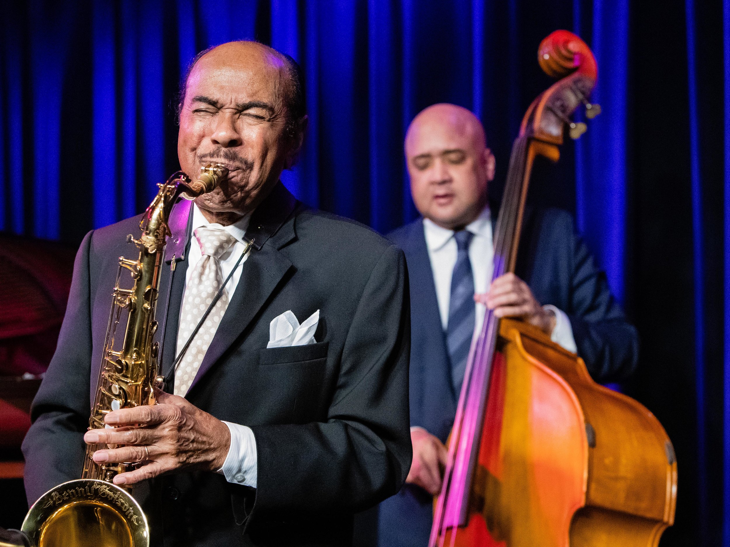 Benny Golson performs many of his classic jazz compositions at The Nash Phoenix.