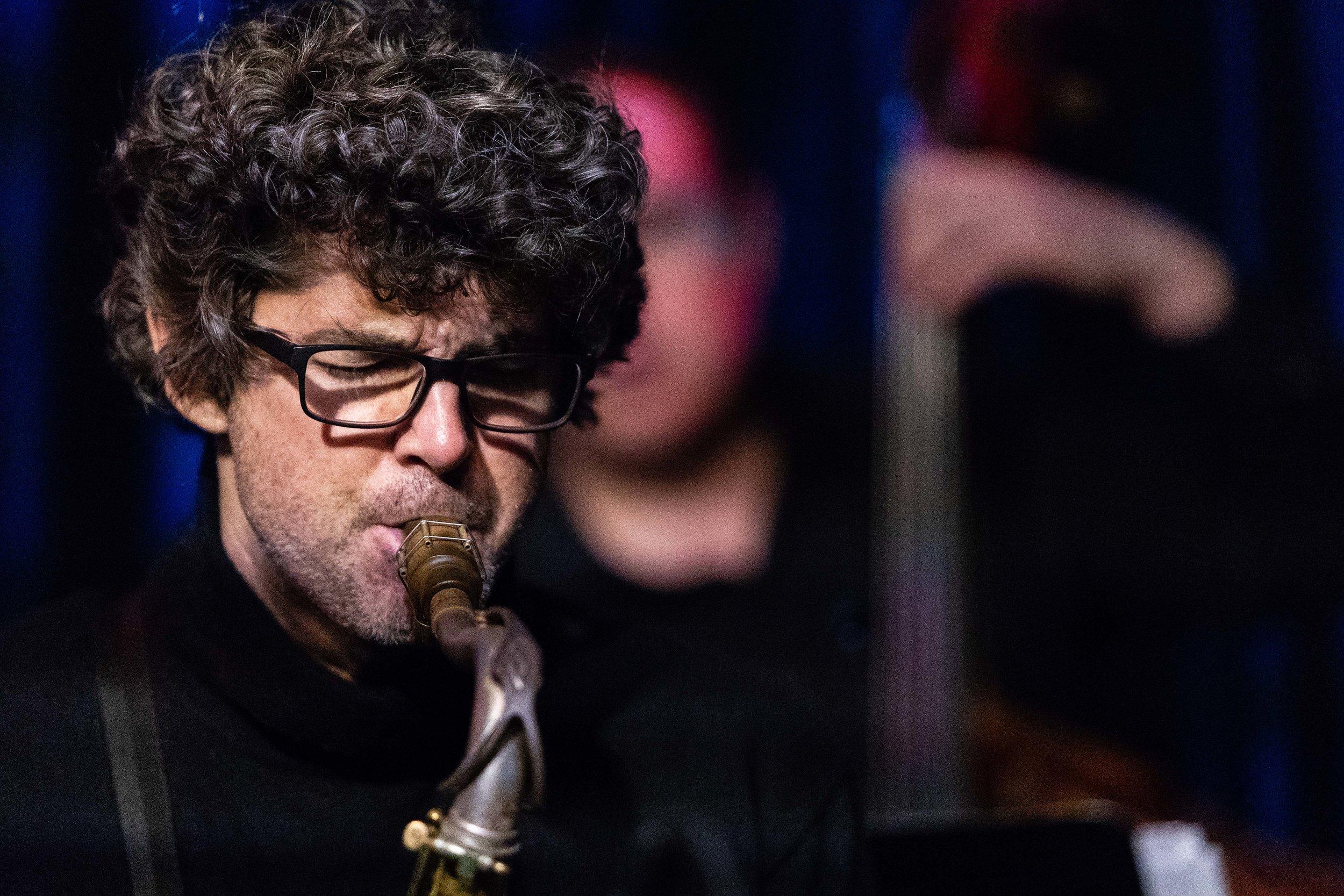 Andrew Rathbun at The Nash Jazz Jazz Club in Phoenix, Arizona.