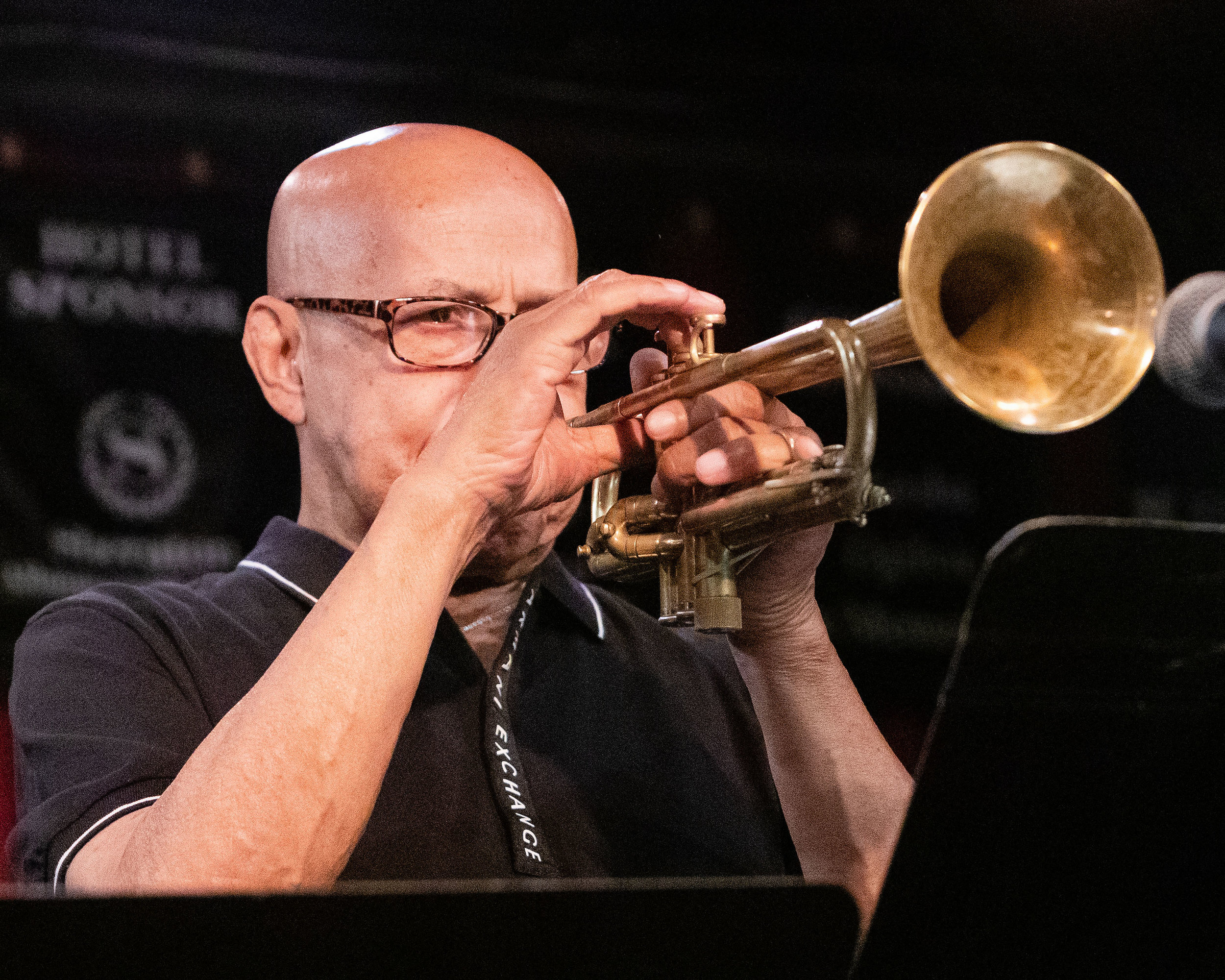 Eddie Henderson on trumpet with The Cookers