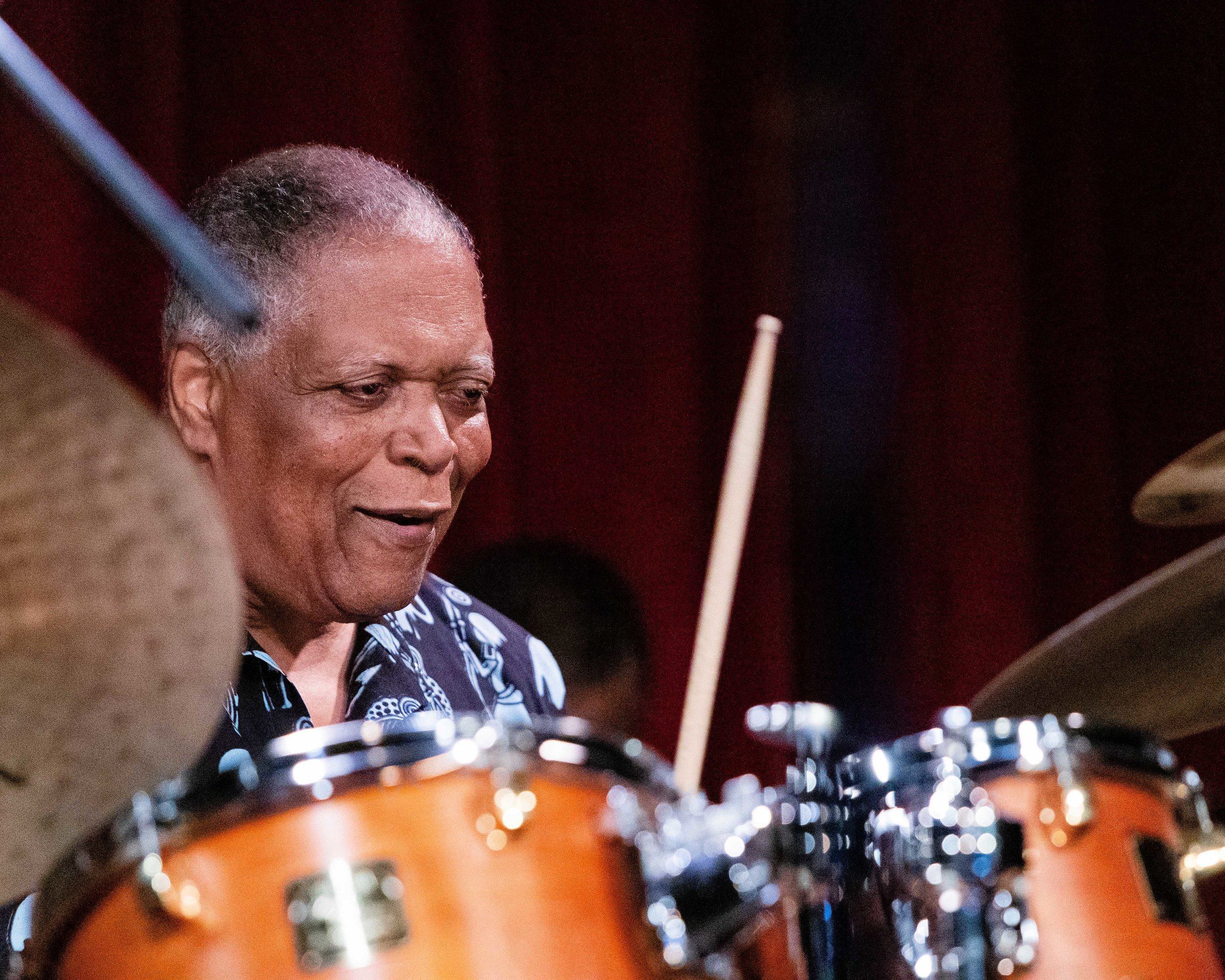 Billy Hart on drums with The Cookers