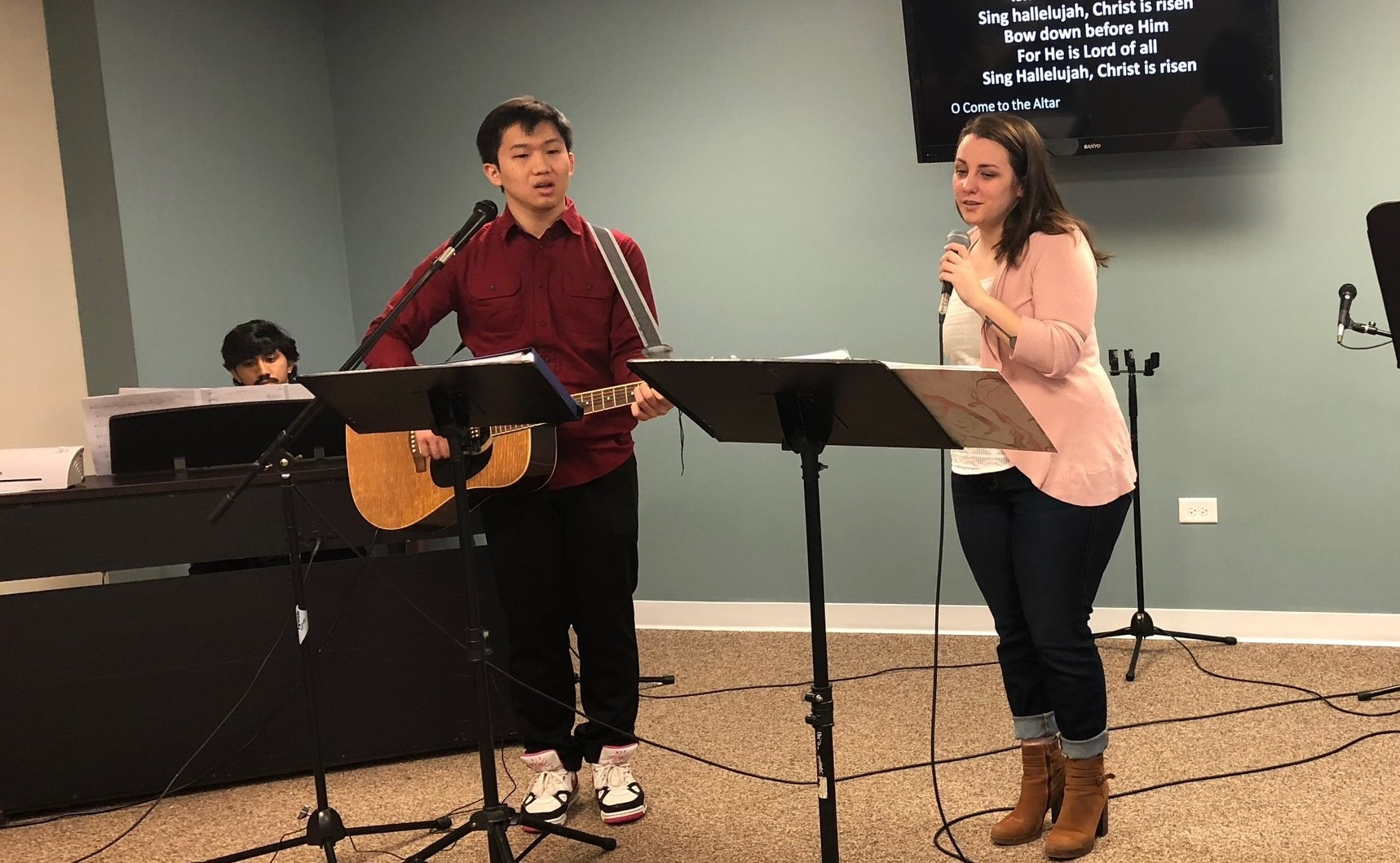 christ centered celebration - Our worship leaders choose hymns and songs that support the preaching of God's word. Our worship team is made up of volunteers who have a heart to serve through music and song.
