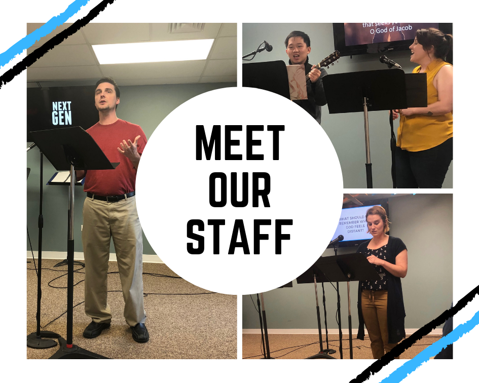 staff - Get to know our Senior Pastor, Director of Ministry, and Worship Leaders.
