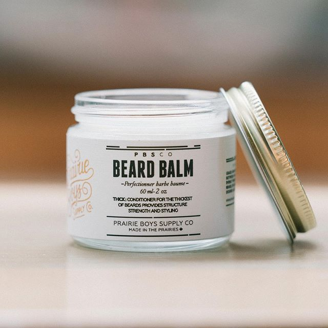 PBSCo: Premium Beard Balm Provides structure,strength and styling.  A leave in Conditioner for the thickest of beards.