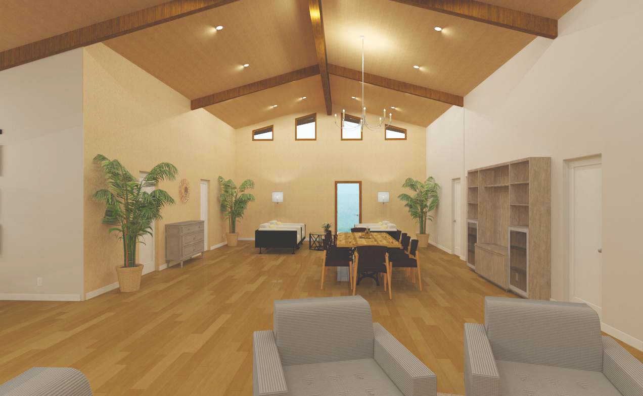 Great Room facing rear