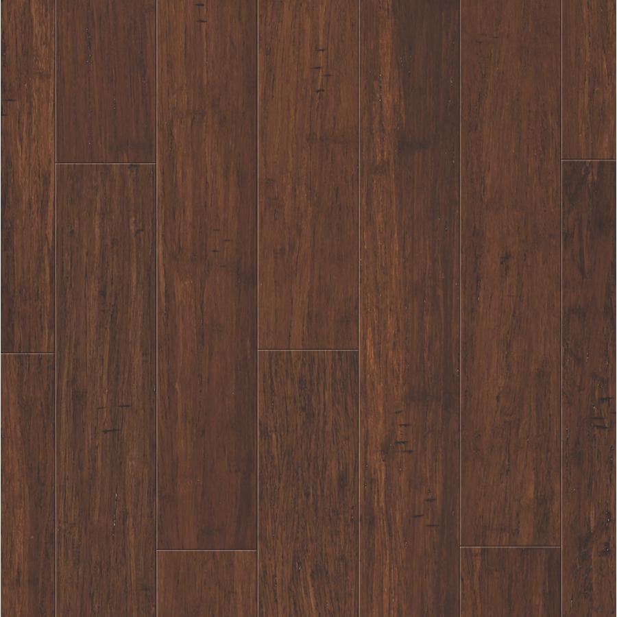 Flooring: Natural Brushed Spic Bamboo
