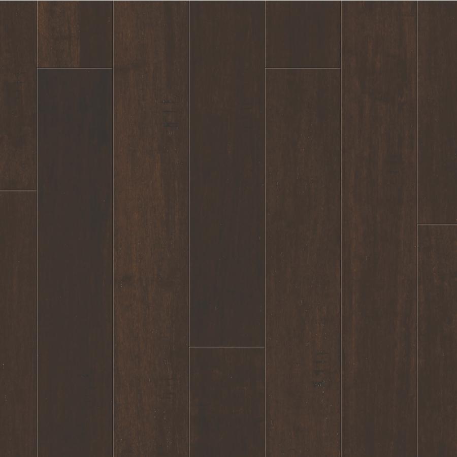 Flooring: Natural Floor Dark Java Bamboo