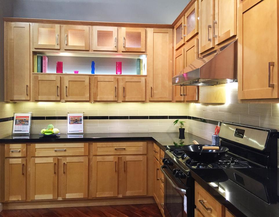 Cabinetry: Shaker Birch155