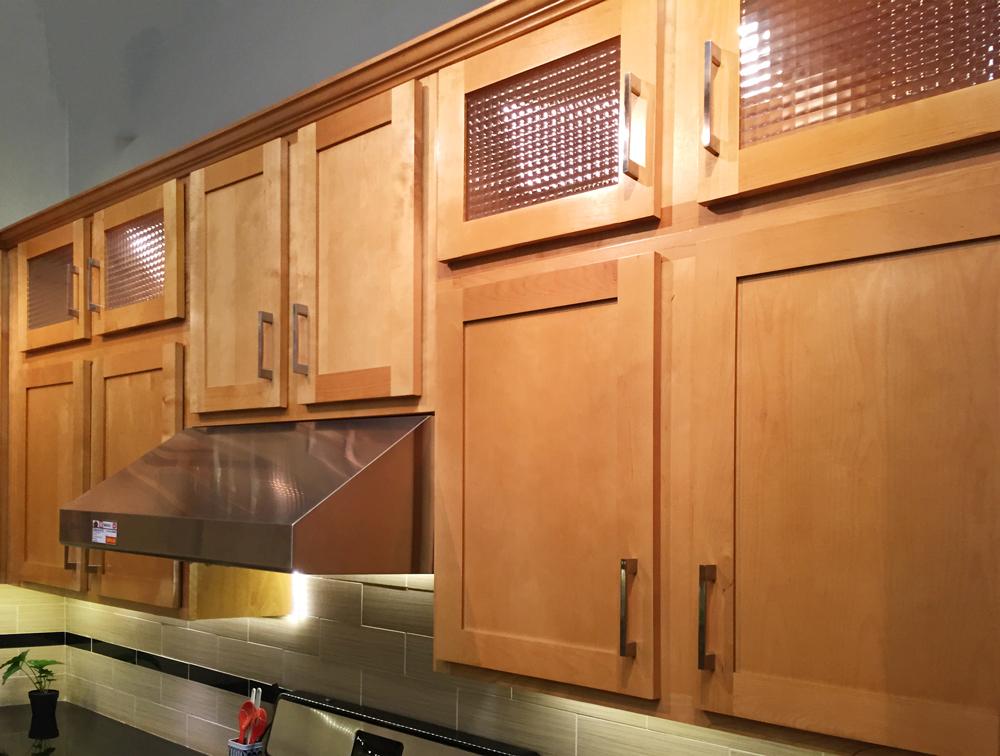 Cabinetry: Shaker Birch 163