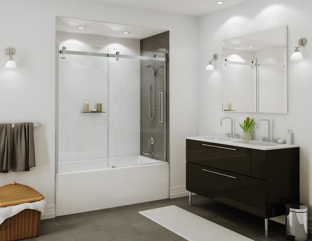 Frameless Tub/Shower door: BP550C1