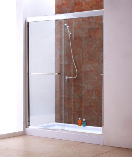 Framed Shower door: SH.5x6.CLR.C.14