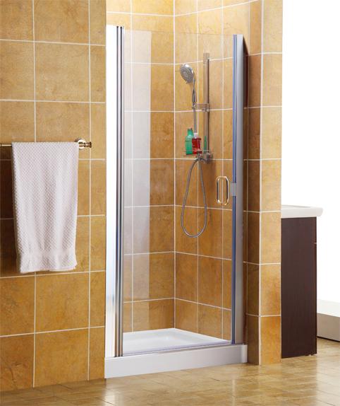 Small Framed Shower Door: VP366C1