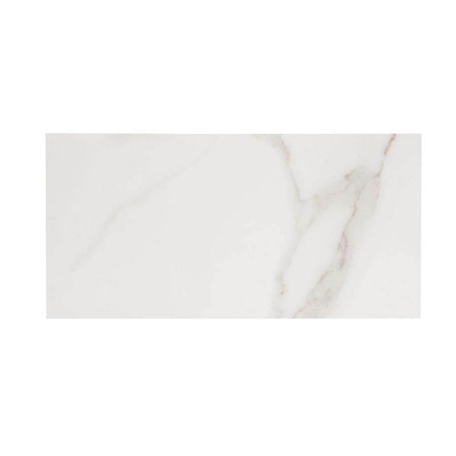 Tile: Calcutta Polished White