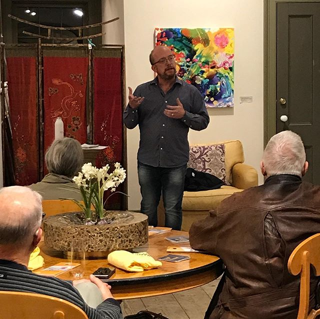 Great conversation at our  #Bujan4Hudson Business Forum last night.  Special thanks for Tessy and Jay at TK Home  and Garden for hosting.  #StabilityInGovernment #FutureVision #Leadership #vote #accountability  @ Hudson Historic District