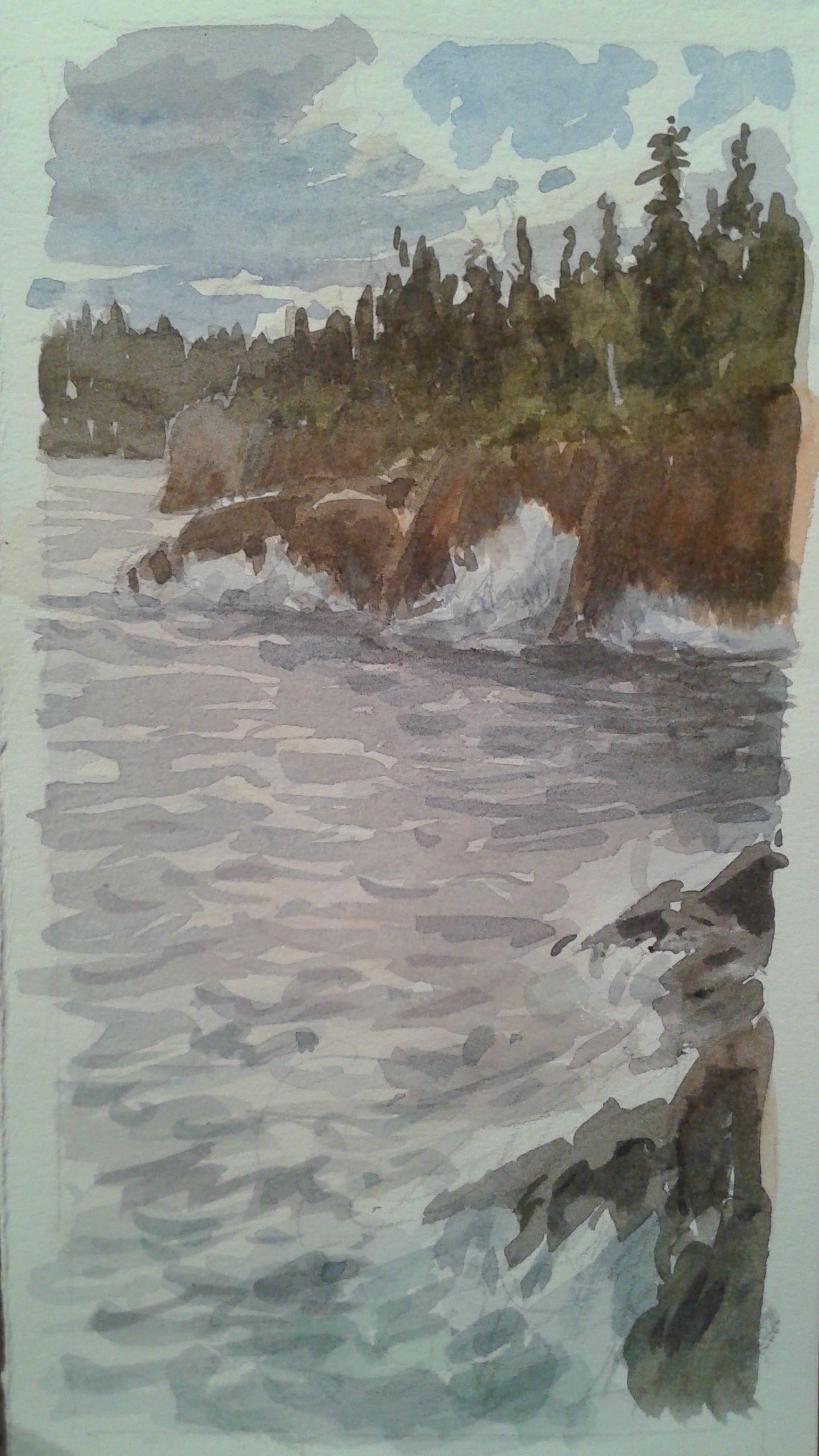 North Shore, 3x5""