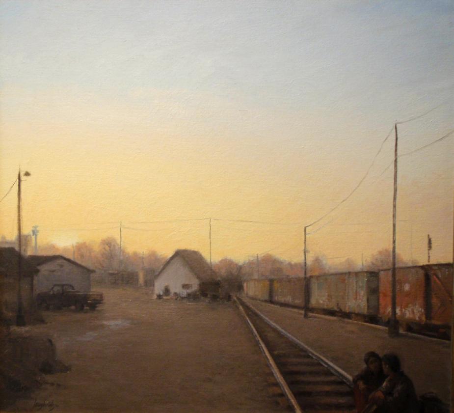 Delayed Train, Sunset
