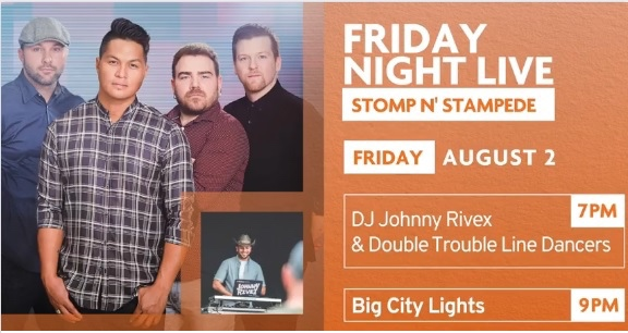 2019 Stomp N Stampede, August, Friday 2nd @ Garden Square Brampton