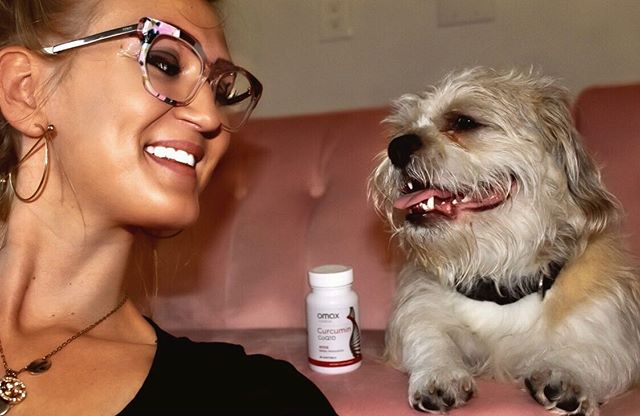 Favorite fur baby! He lives life to the MAX and @omaxhealth helps me keep up with great support for muscles!🐶💪❤️ use CURC20 for 20% OFF #OmaxHealth #LifeToTheMax #ambomax #HerOmaxCoQ10 #amazon #curcumin #tumeric #hearthealth #ambcollab