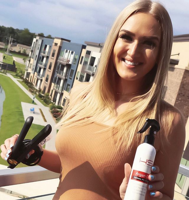 GIVEAWAY❕$350 HSI Professional Gift Card and 1 Argan Oil Heat Protector Spray! Excited for y'all to try out @hsiprofessional! I love their Glider Flat Iron and Argan Oil Heat Protector Spray! ENTER GIVEAWAY⇩ ⒈ Follow @HSIProfessional @AllisonGappa ⒉ Like Pic! ⒊ Comment mentioning 3 friends! #hsiprofessionalgiveaway #giveaway