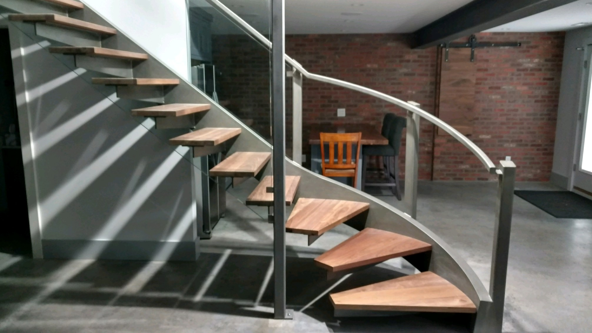 Spiral Staircase — Steel Weld Inc