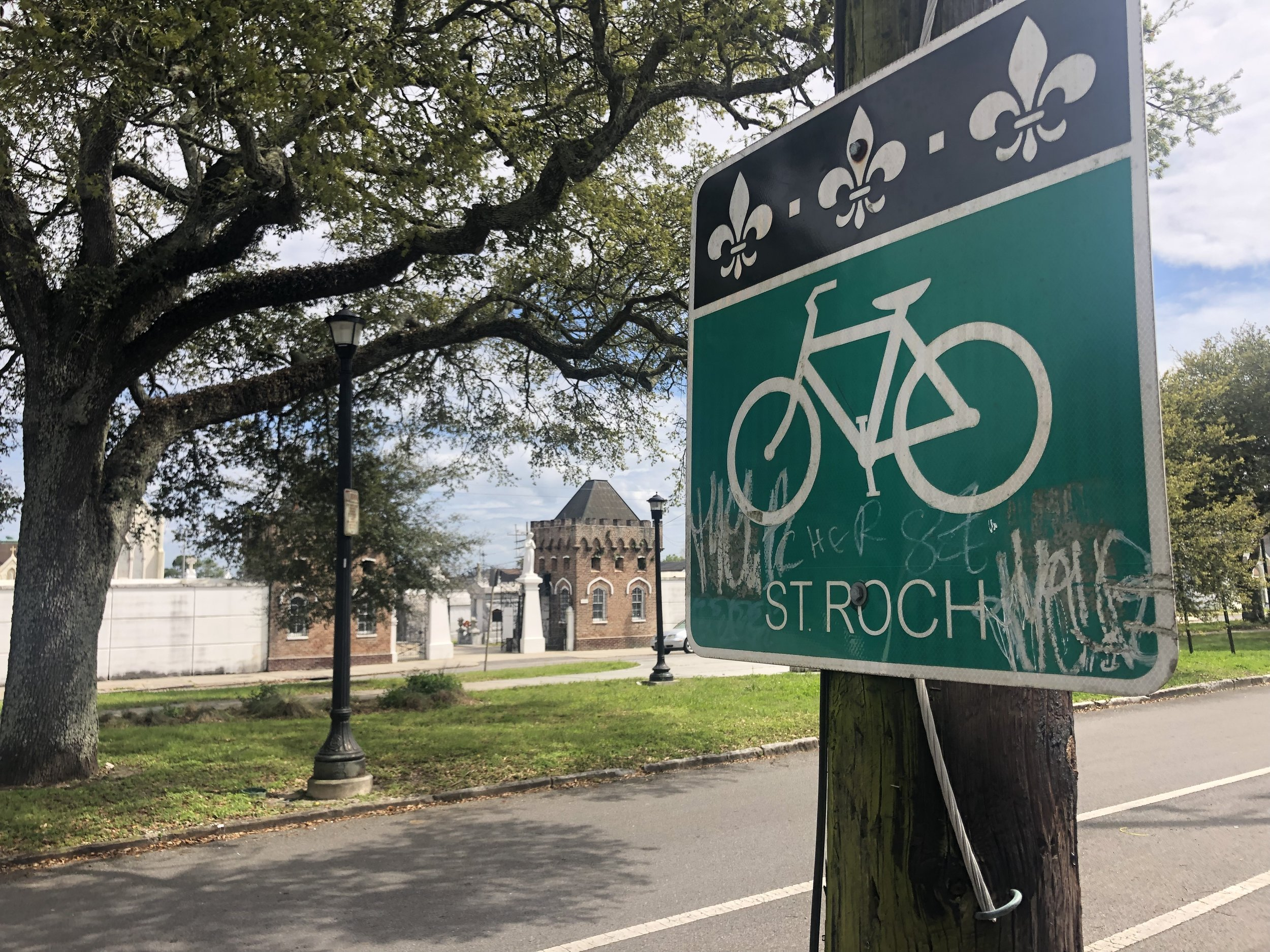 st roch bike lane