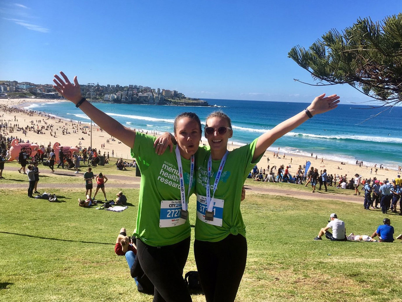 City2Surf – 2017 & 2018 - In 2017 and 2018 SMHR partnered with Medacs Global Group Australia to raise funds for mental health research.