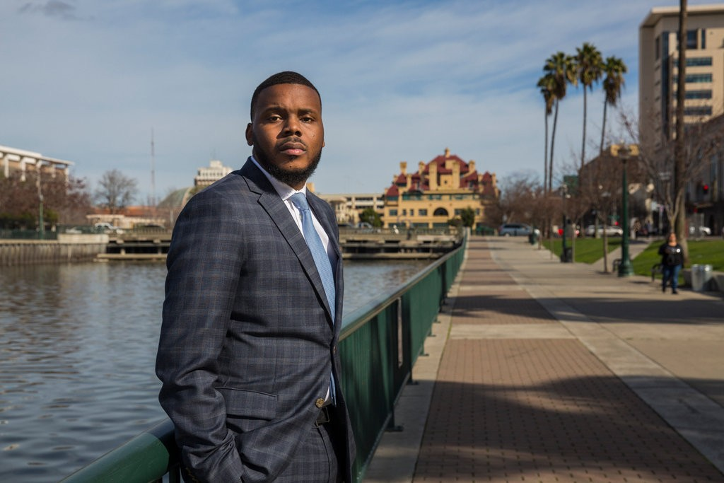 Michael Tubbs, the mayor of Stockton, Calif., hopes a provision in the new federal tax law will help entice investment to the city.CreditCreditAndrew Burton for The New York Times